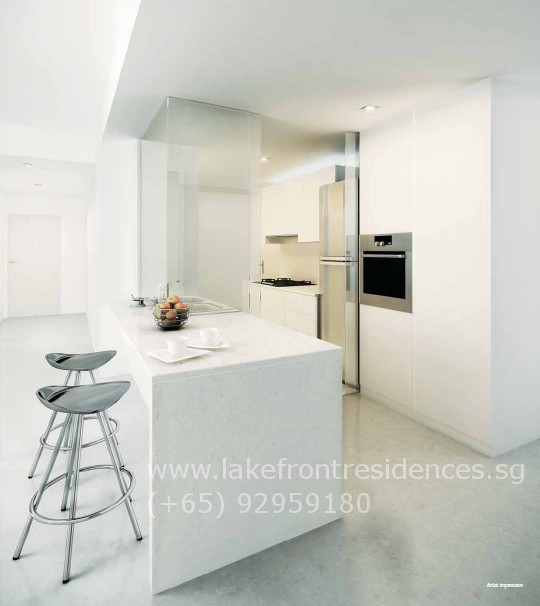Lakefront Residences Kitchen