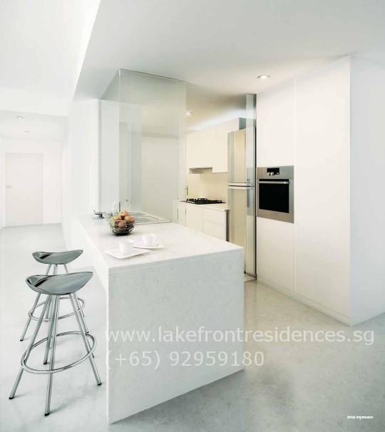 Lakefront Residences Kitchen
