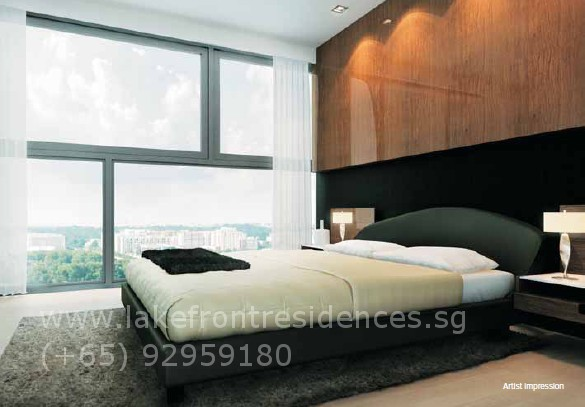 Lakefront Residences Bedroom